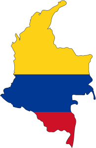 Colombia_flag_map