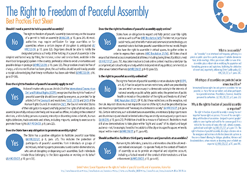 Freedom of Assembly - best practices infosheet_500
