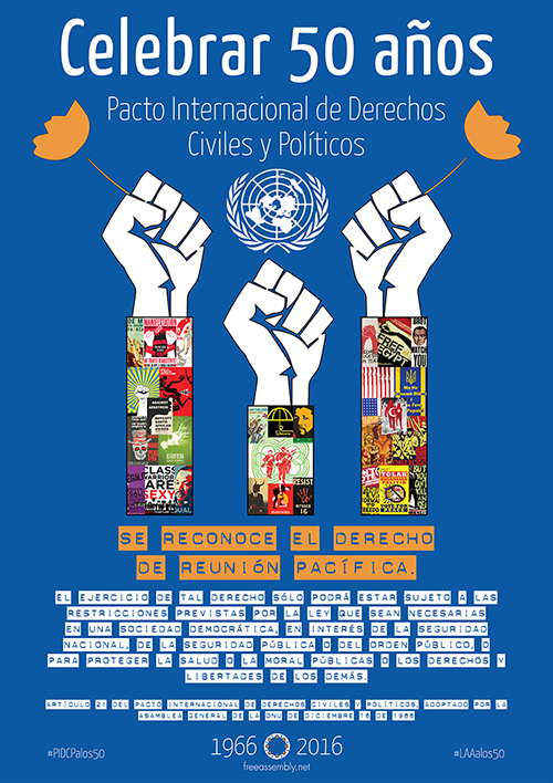 ICCPR Art. 21 protest poster collage A1 SP_500